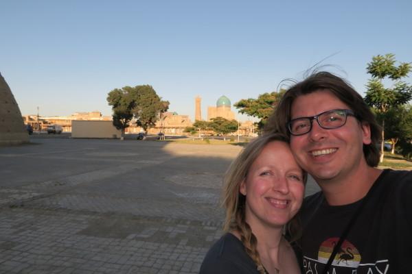 Bukhara selfie