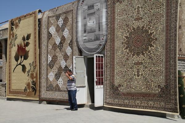 Bukhara tapijt