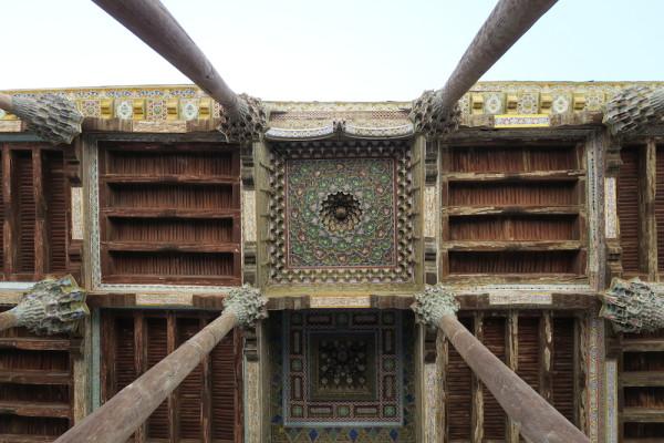 Dak Moskee Bukhara