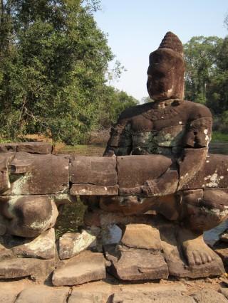 Detail van tempel