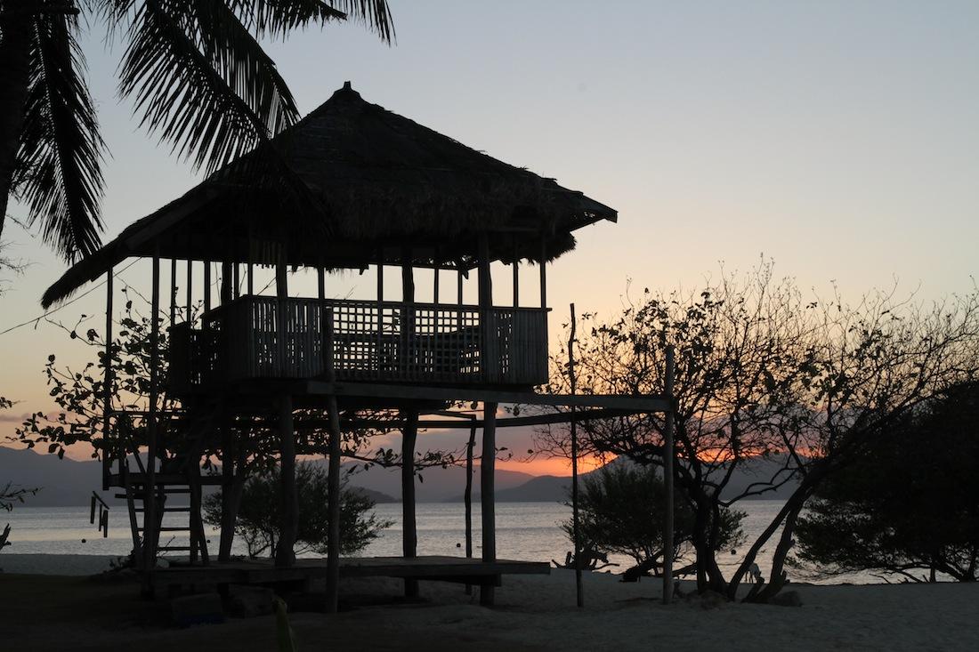 Een hutje op Banana Island