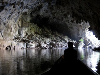 Einde van de grot