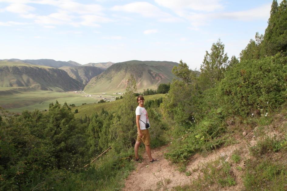 Finbar in de bergen