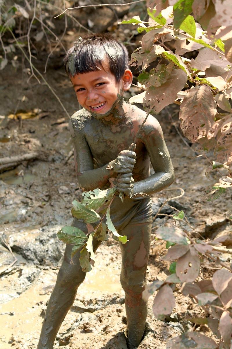 Groene modder