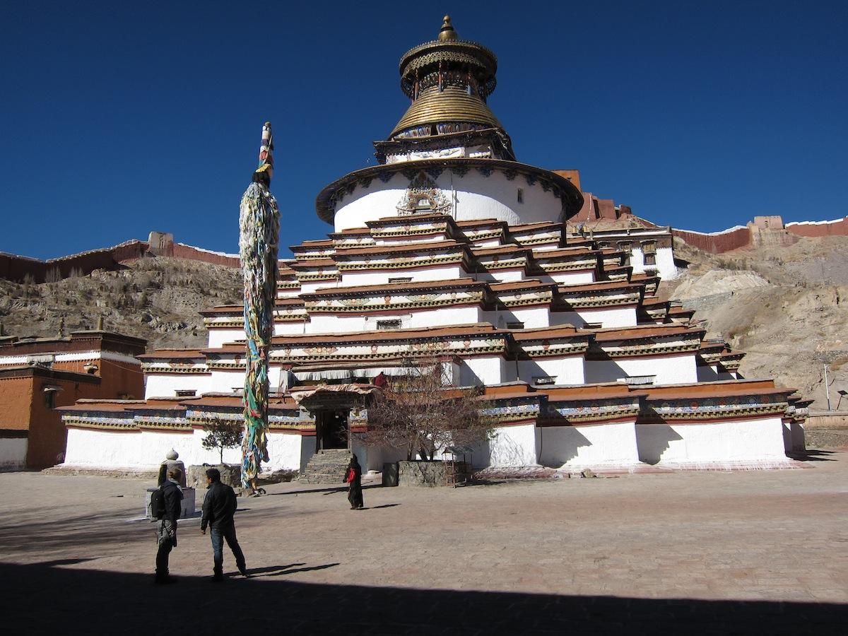 Grote stupa