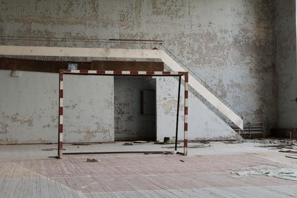 Gymzaal-Pripyat