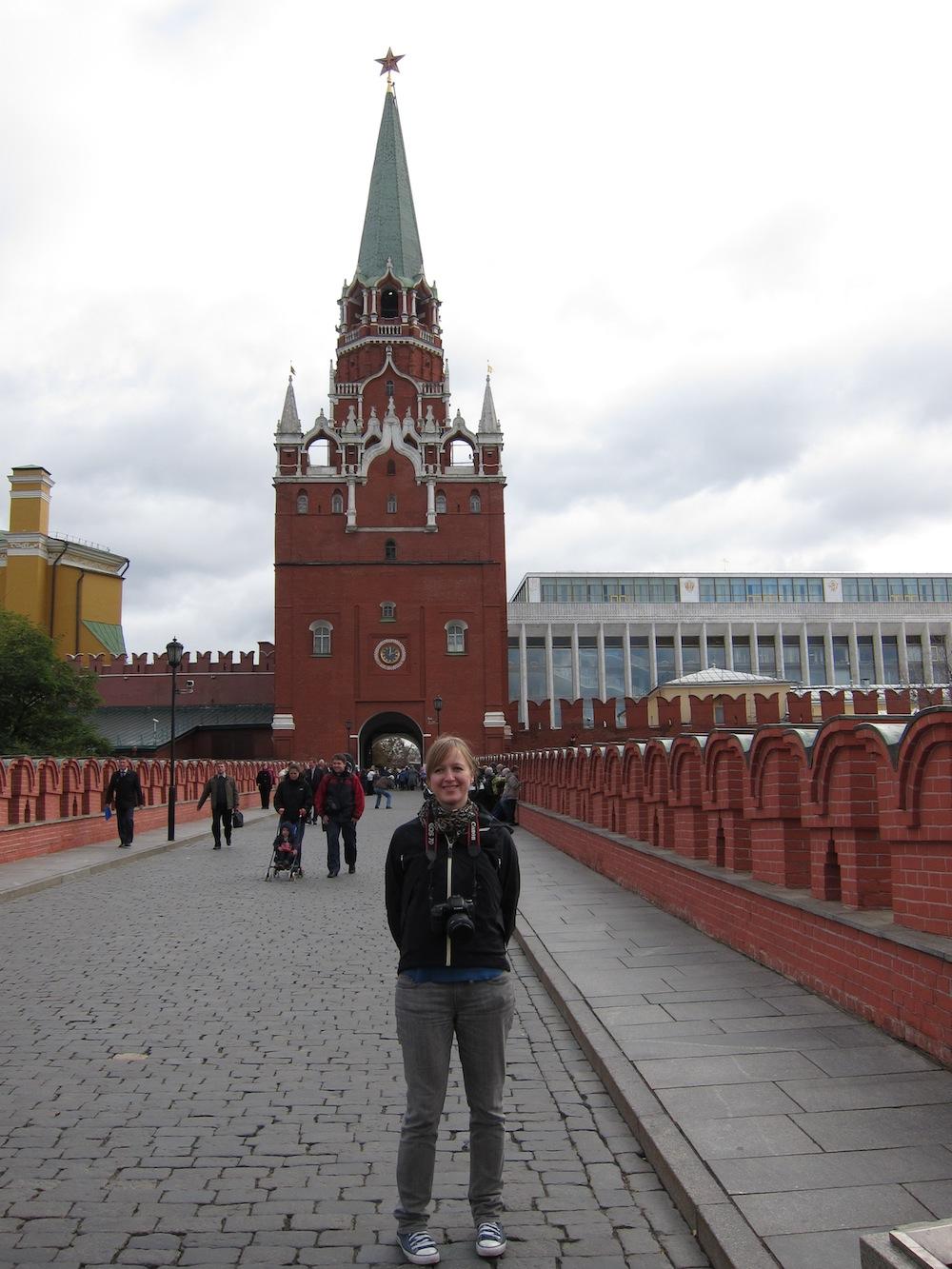 Marloes naar het Kremlin