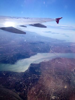 Vlucht naar Tehran