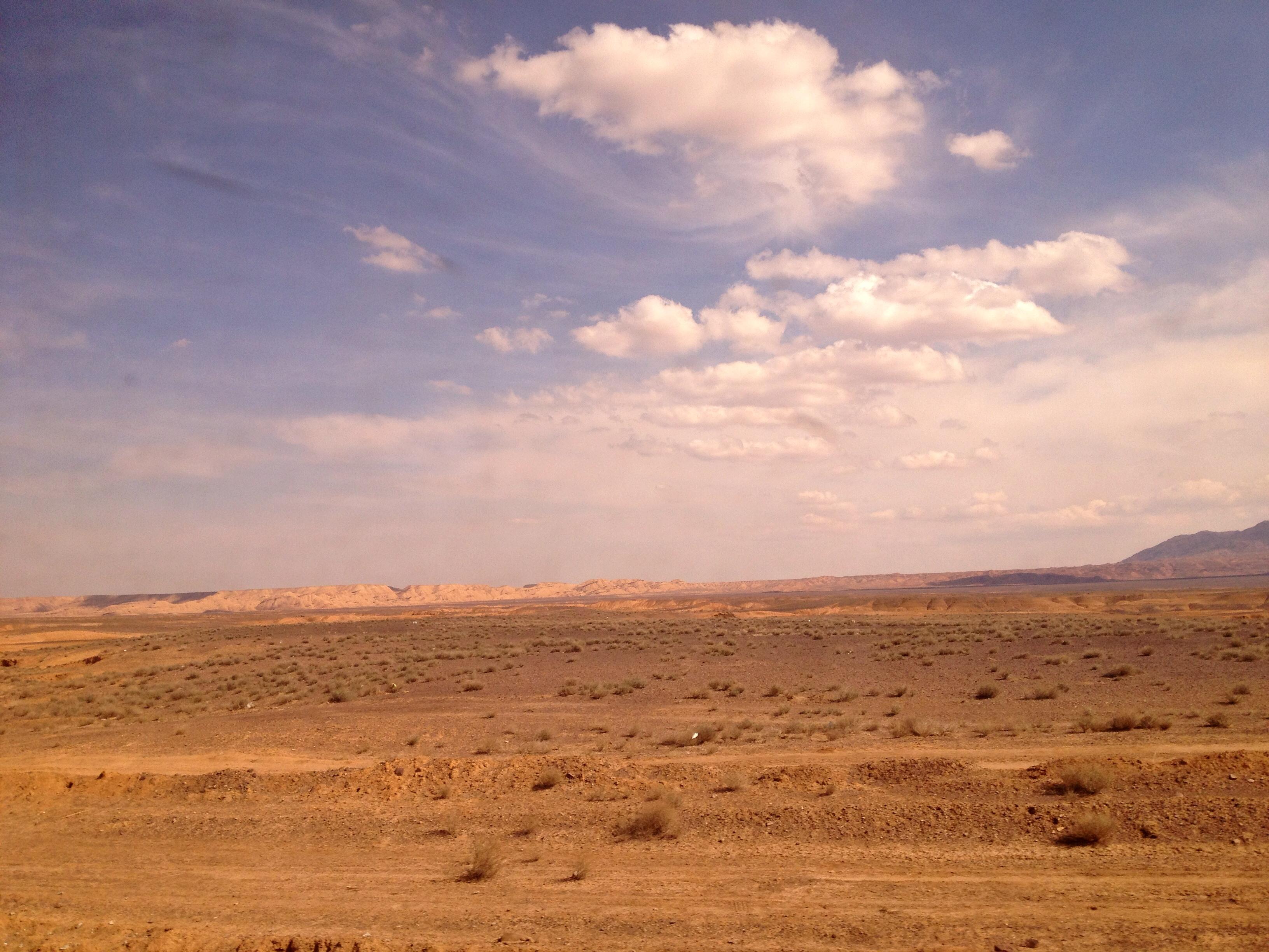 Uitzicht uit trein