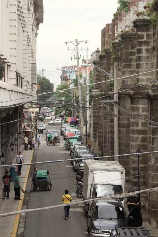 Intramuras straat