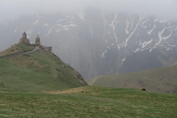 Kerk op berg