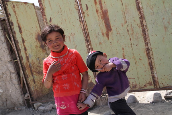 Kinderen in Karakul