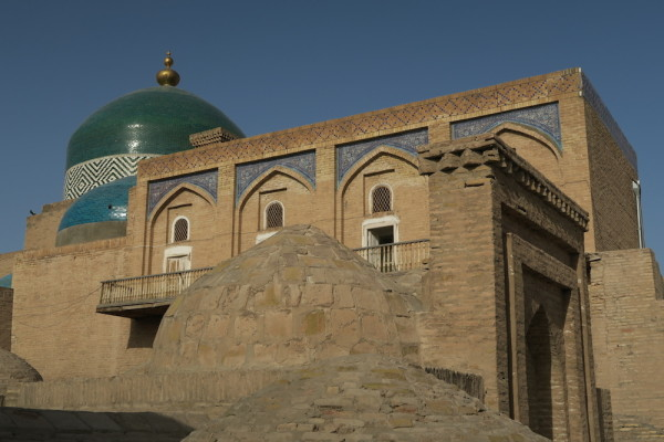 Koepels in Khiva