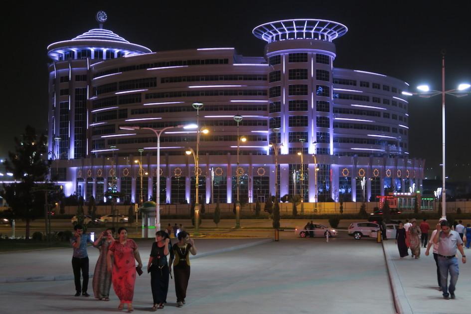 Las Vegas in Turkmenistan