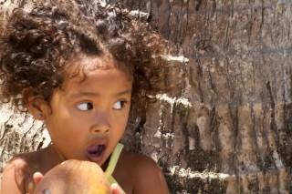 Meisje Banana Island