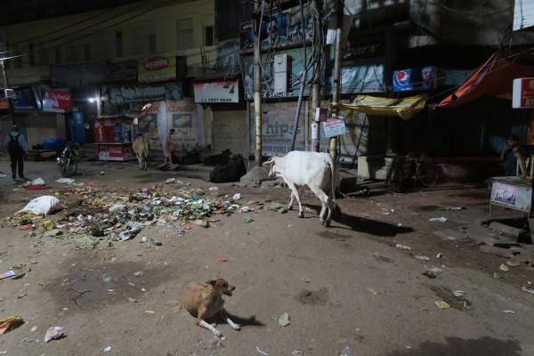 Nacht in Varanasi