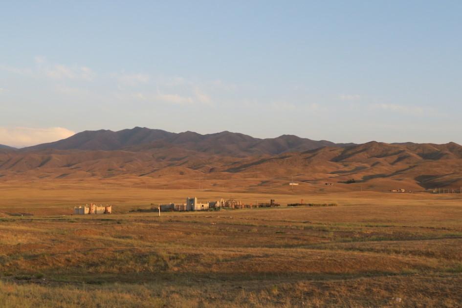 Onderweg naar Kazakhstan