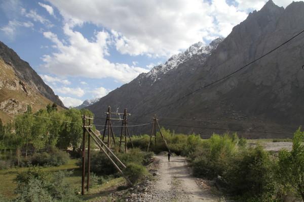 Onderweg naar Khorog