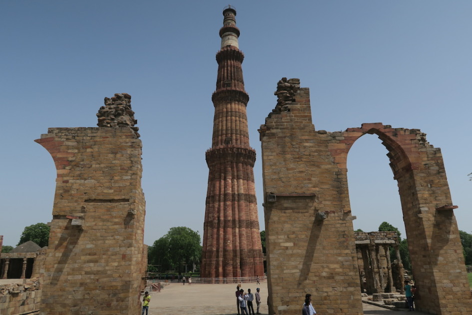 Oude moskee Delhi
