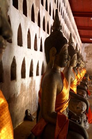 Oude tempel vientiane