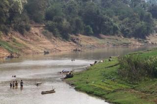 Rivier bij Battambang