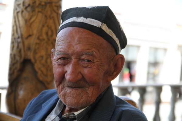Samarkand oude man