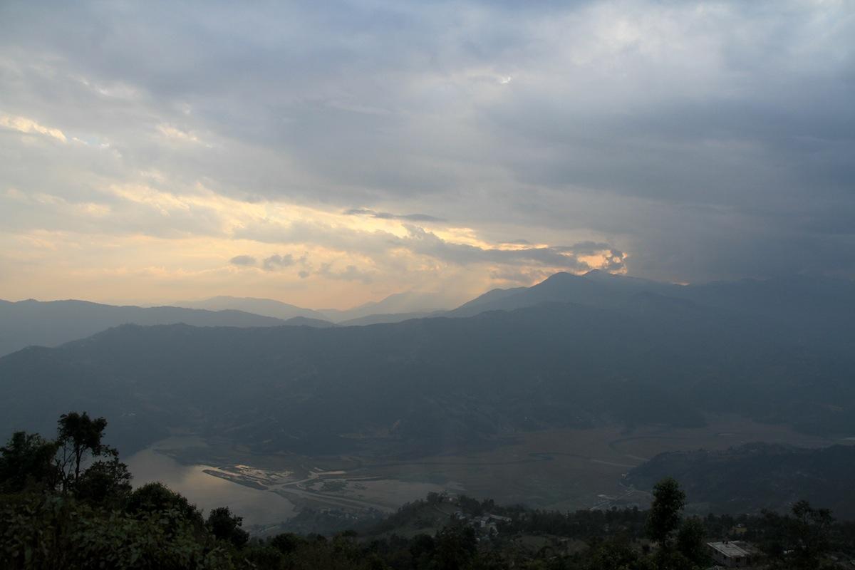 Sarangkot uitzicht