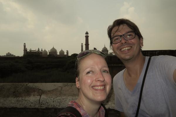 Selfie Lahore skyline