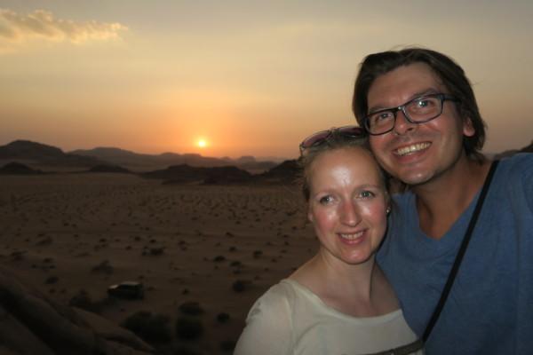 Selfie Wadi Rum