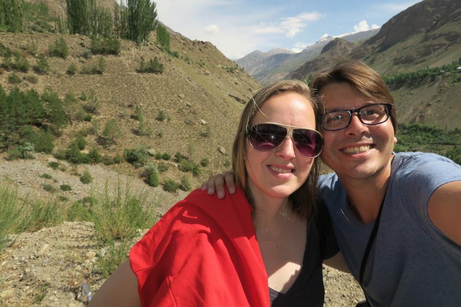 Selfie in Khorog