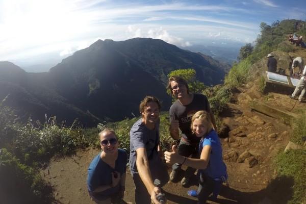 Selfie op de top