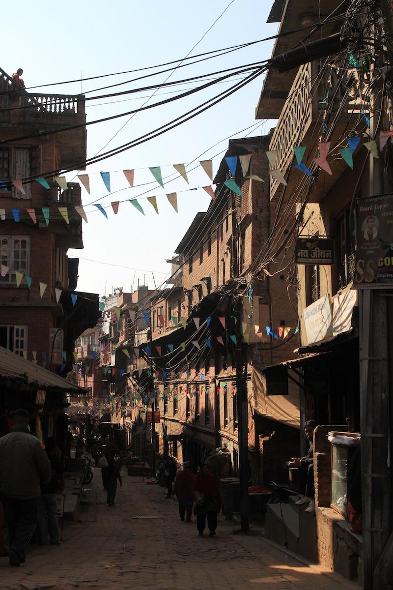 Straat Bhaktapur