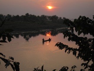 Sunset Chitwan