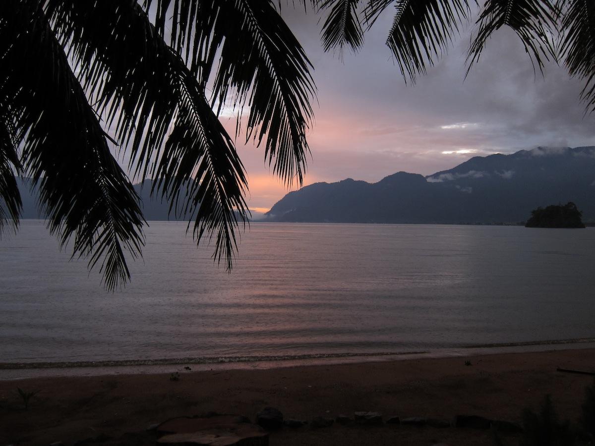 Sunset Maninjau