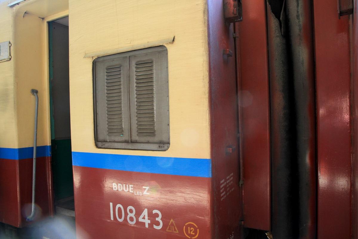 Trein Myanmar