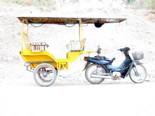 Tuktuk van Nicky