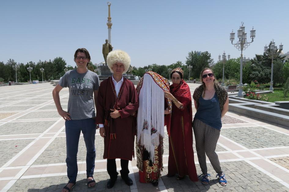 Turkmeense bruiloft