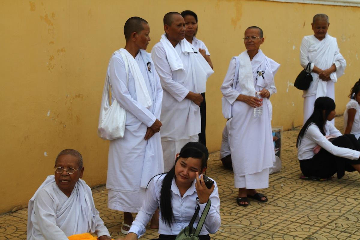 Uitvaart Sihanouk