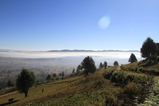 Uitzicht bergen Kalaw