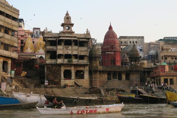 Verbrandingsghat Varanasi