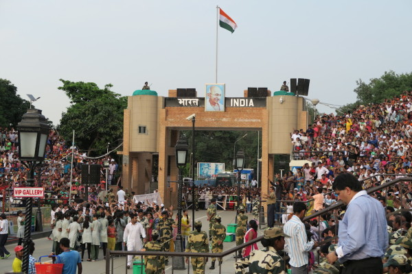 Wagah border India
