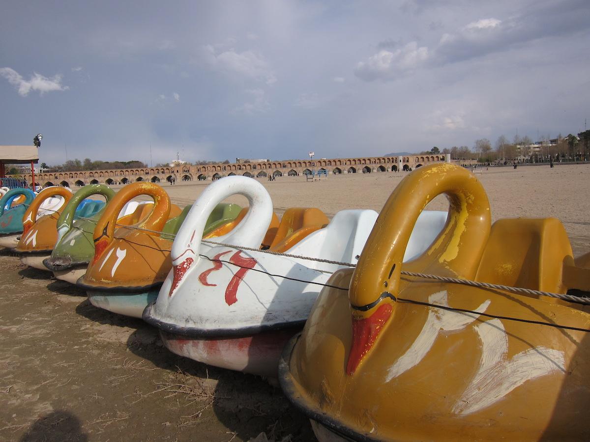 Waterfietsen