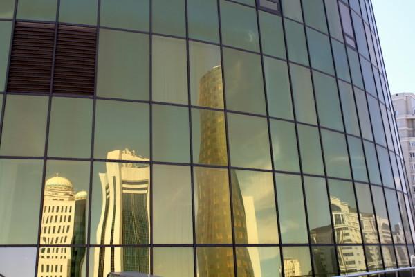Weerspiegeling Astana